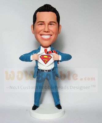Superman transform bobblehead BM72
