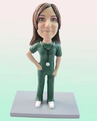 custom bobblehead - Nurse D317