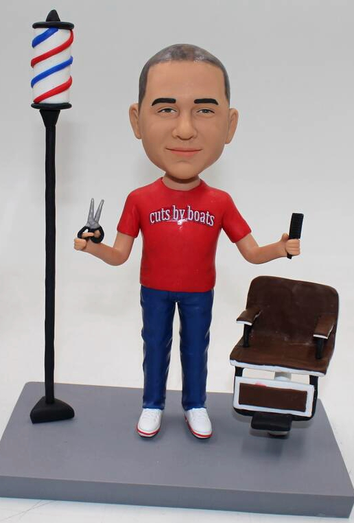 Custom bobbleheads salon hairdresser