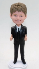 Custom kid bobblehead for Son or ring boy