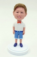 Custom ring bearer bobbleheads for gift