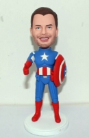 Captain America custom bobbleheads