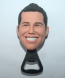 his face custom bottle opener