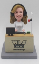 Custom Bobbleheads Female Radio Host