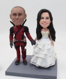 Deadpool wedding bobbleheads
