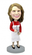 Custom chef Mom bobblehead