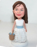 Flower girl bobbleheads BB43