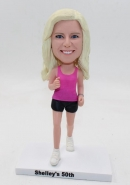 Custom bobblehead doll runner