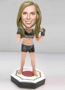 Custom bobblehead boxing girl