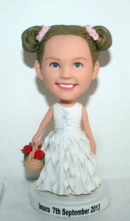Flower girls bobblehead 1593-2