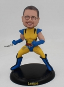 Custom Wolverine bobbleheads X-MEN