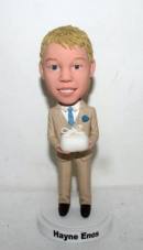 Ring bearer bobblehead 1700-1
