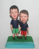 custom two boys bobbleheads