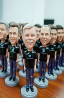 4 custom bobbleheads bullk order different faces