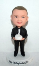 Ring bearer bobblehead 1593-1