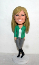 Custom bobbleheads girl in boots