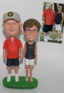 Custom Bobbleheads for Parents