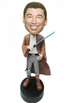 Custom Jedi Knight bobbleheads