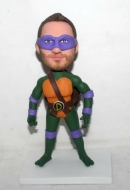 Custom Ninja Turtle bobblehead