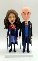Custom Bobbleheads Couple Harry Potter